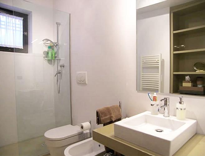 Ground floor apt - bathroom